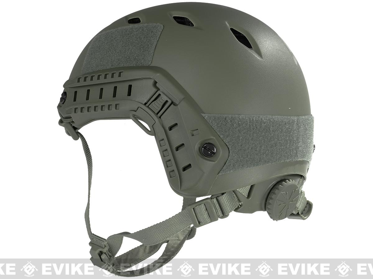 Emerson Bump Type Tactical Airsoft Helmet (BJ Type / Advanced / Foliage Green)