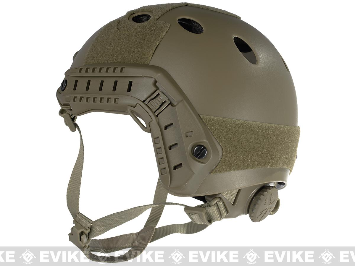 6mmProShop Bump Type Tactical Airsoft Helmet (PJ Type / Advanced / Dark Earth)
