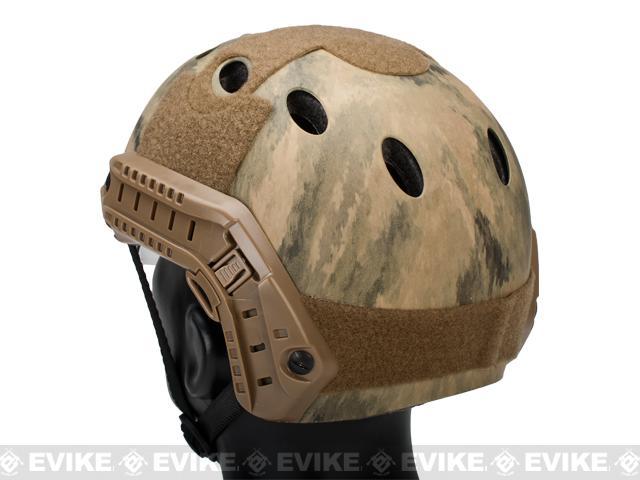 Emerson Bump  Helmet w/ Flip-down Retractable Visor (PJ Type / Arid Foliage)