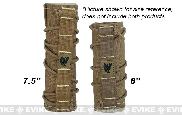 Griffon Industries Heat & Mirage Mitigation System Middy for 7.5 Suppressors - Kryptek Highlander