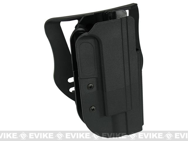 Blade-Tech Revolution Paddle Holster w/ Adjustable Belt Attachment - 1911 Full Size (Right Hand - Black)