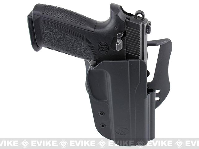 Blade-Tech Revolution Paddle Holster w/ Adjustable Belt Attachment - FNH 9 / 40 (Right Hand - Black)