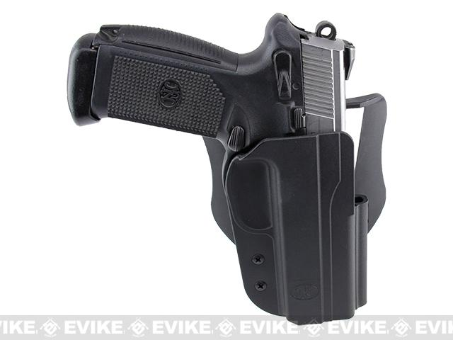 Blade-Tech Revolution Paddle Holster w/ Adjustable Belt Attachment - FNH 45 (Right Hand - Black)