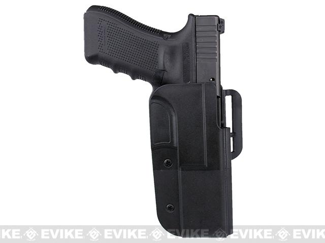 Blade-Tech Revolution Paddle Holster w/ Adjustable Belt Attachment - Glock 34 / 35 (Right Hand - Black)