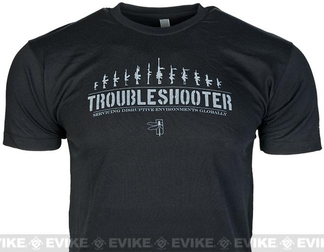 Haley Strategic Partners HSP Trouble Shooter Tee - Black (Size: X-Large)