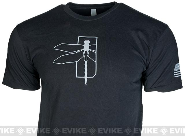 z Haley Strategic Partners HSP Dragonfly Tee - Black (Size: Small)