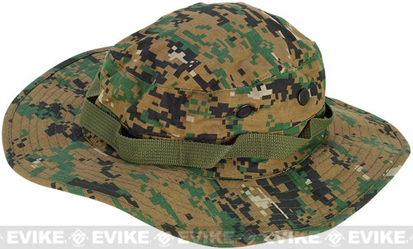 Matrix Boonie Hat - Digital Woodland (Size: X-Large)