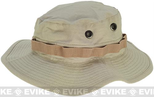 Desert Size Matrix Jungle Boonie Hat  (Size: M) - Khaki