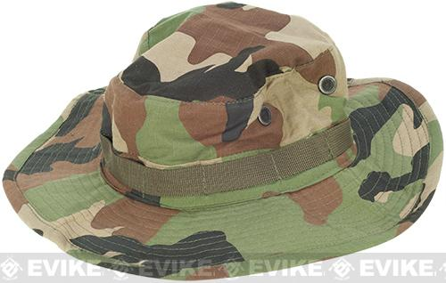 Desert Size Matrix Jungle Boonie Hat  (Size: S) - Woodland Camo
