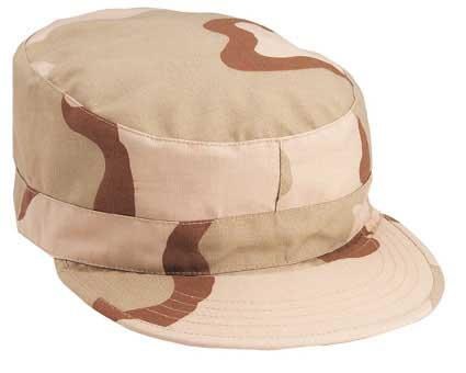 z Military Ranger Cap w/ Map Pocket (3 Color Desert) - Size: M