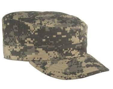 Military Ranger Cap w/ Map Pocket (ACU) - Size: M