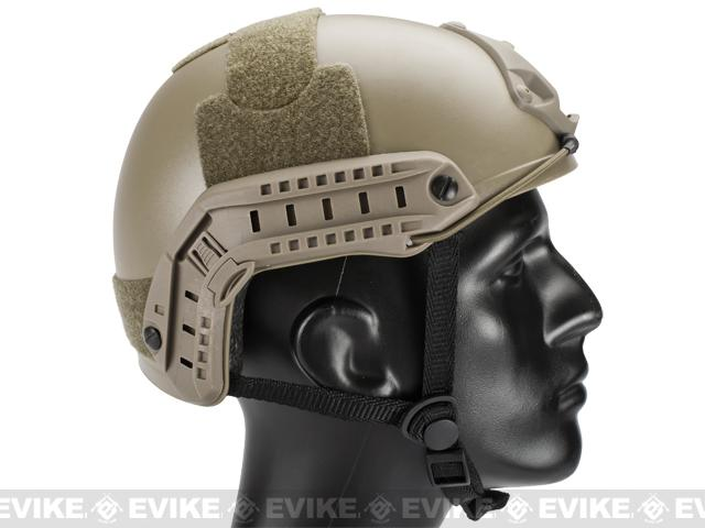 Emerson Bump Type Tactical Airsoft Helmet (MICH Ballistic Type / Basic / Dark Earth)