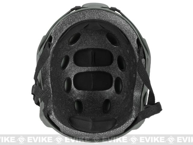 Emerson Bump Type Tactical Airsoft Helmet (MICH Ballistic Type / Basic / Foliage Green)