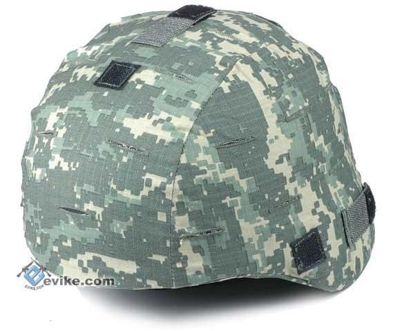 Military Style Combat Helmet Cover for MICH / ACH / TC-2000 Protective Combat Helmet Series - ACU