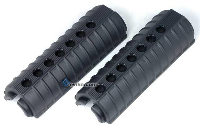 M4 Carbine Polymer Handguard for M4 Series Airsoft Rifles - Black