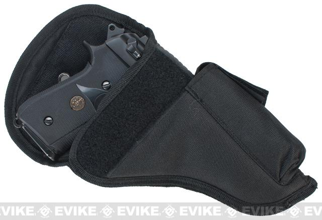 Firedragon Compact Airsoft Pistol Belt Holster - Black