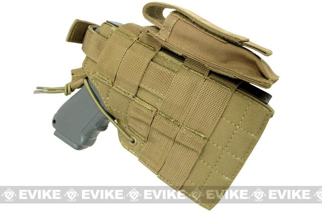 Condor Ambidextrous MOLLE Ready Tactical Holster for Glock Serie - Tan