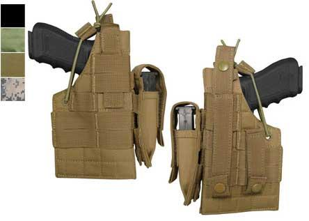 Condor Ambidextrous MOLLE Ready Tactical Holster for Glock Serie - Black