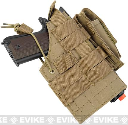 Condor Ambidextrous Tactical Holster for 1911 Series - Tan