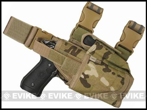 Condor Tornado Universal Tactical Thigh / Drop Leg Holster - Multicam