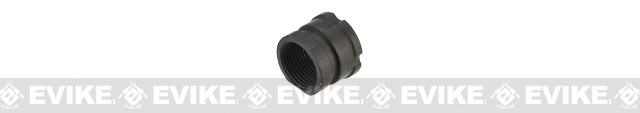 Metal AK Type Flash Hider for Airsoft AEG (14mm Negative)