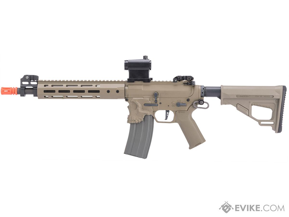 Pre-Order ETA August 2017 EMG / Sharps Bros Jack Licensed Full Metal Advanced M4  Airsoft AEG Rifle (Color: Tan / 10 SBR)