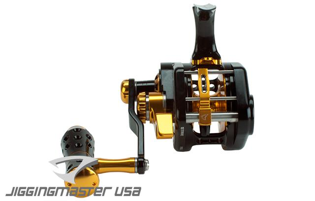 Jigging Master UnderHead Reel - Black / Gold (Size: PE5N / Narrow)