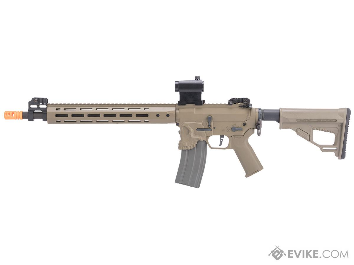 Pre-Order ETA August 2017 EMG / Sharps Bros Jack Licensed Full Metal Advanced M4 Airsoft AEG Rifle (Color: Tan / 15 Carbine)