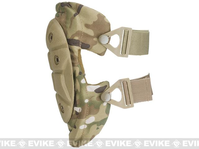 King Arms Warrior Advanced Tactical QD Knee Pads (Color: Camo)