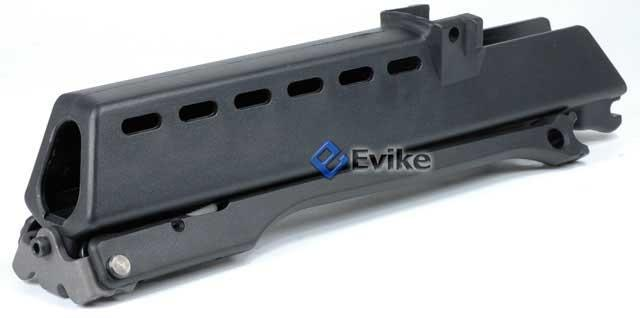 G36 Rifle Conversion Kit Handguard w/ Bipod for Airsoft AEG Rifle