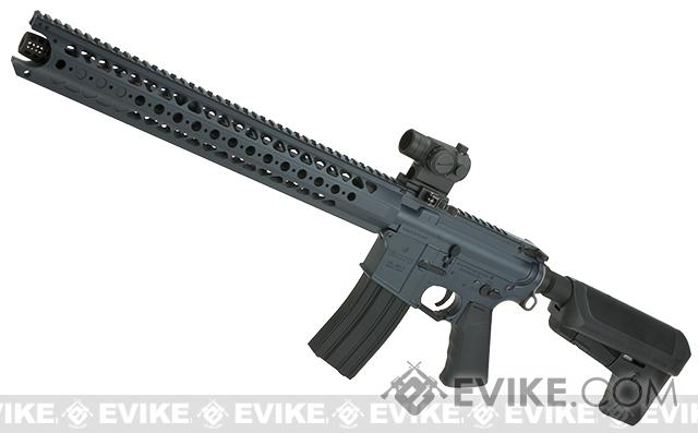 Krytac War Sport Licensed LVOA-C M4 Carbine Airsoft AEG Rifle - Wolf Grey Special Edition