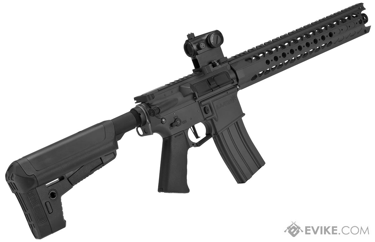 Krytac War Sport Licensed LVOA-S M4 Carbine Airsoft AEG Rifle - Black