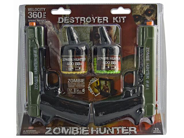 Umarex Zombie Hunter Destroyer Airsoft Spring Pistol Kit