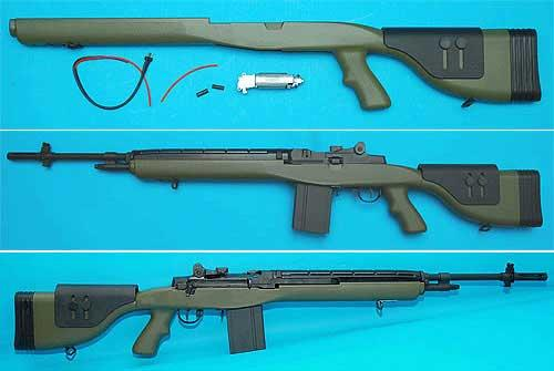 G&P M14 DMR Conversion Kit for M14 Series Airsoft AEG