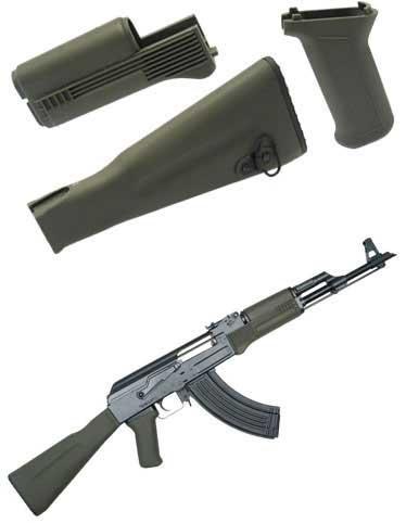 z King Arms AK 74m Tactical Handguard Grip & Stock