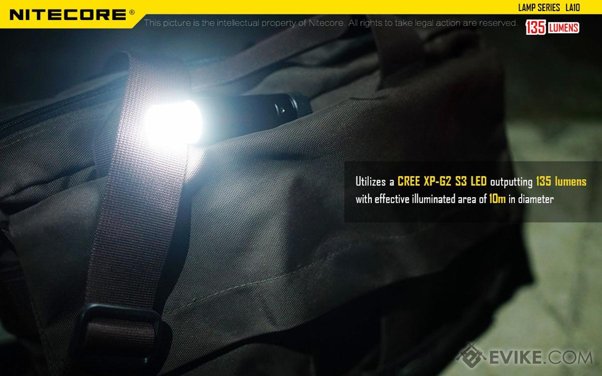 Nitecore LA10 360 Retractable Mini Camp Lantern