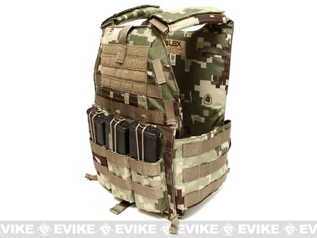 z LBX Tactical Speed Draw Plate Carrier - Project Honor Camo