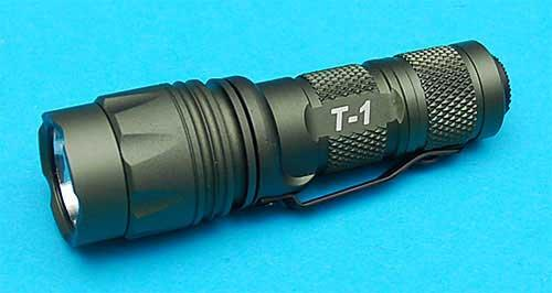 G&P T1 CREE Tactical LED Personal Executive Combat FlashLight w/ Integrated Strobe