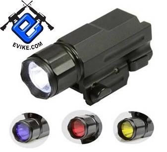 AIM Sports Pistol & Rifle 1 Watt LED Flashlight / Weaver Mount / Quick Release