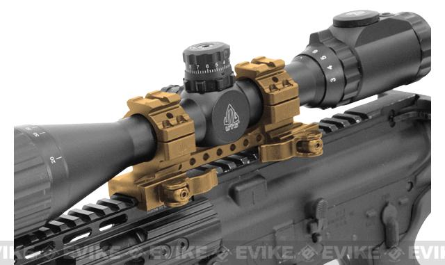 UTG Integral 1 High-Pro QD Scope Mount - Black