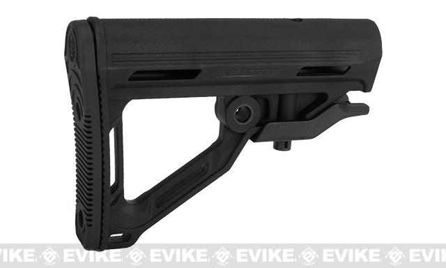ICS High Speed Retractable Stock For M4/M16 Style Airsoft AEG - Black