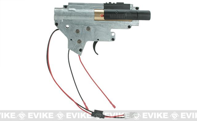 ICS UK1 Complete Integrated Gearbox for ICS EBB M4 Airsoft AEGs - Rear Wired