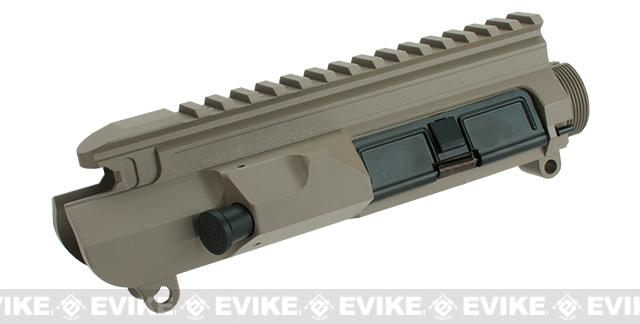 ICS Airsoft MK3 Full Metal Upper Receiver with  Dust Cover - Tan