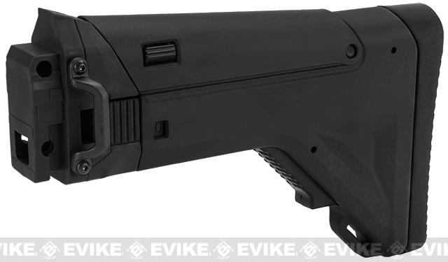 ICS Replacement Folding / Adjustable Stock for CXP APE Series Airsoft AEG Rifles - Black