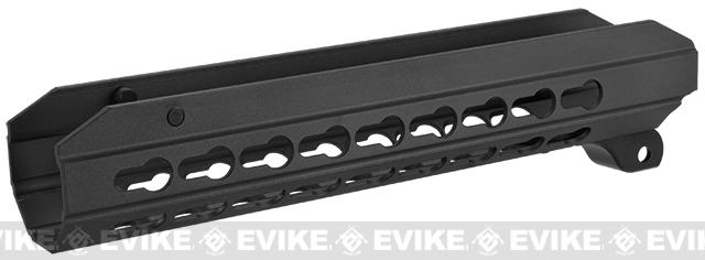 ICS OEM Replacement 9 KeyMod Hand Guard for CXP APE Series Airsoft AEG Rifles - Black