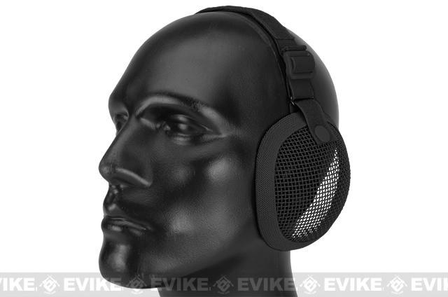 Matrix Tactical  Wire Mesh Ear Protector  (Color: Black)
