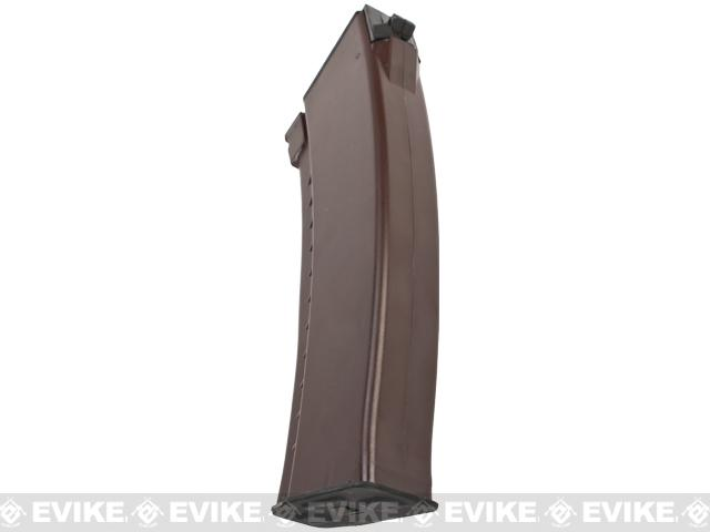 Matrix 140rd Mid-cap No Winding Magazine for AK Series Airsoft AEG (Plum)