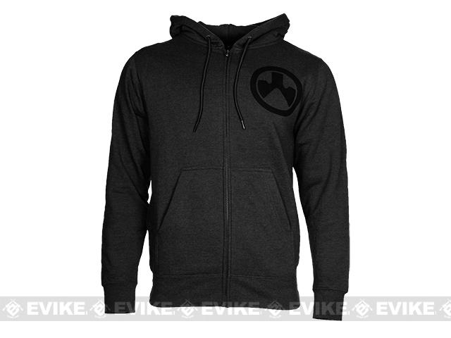 z Magpul™ Sweatshirt, Full Zip Hoodie - Charcoal Heather (Size: Small)