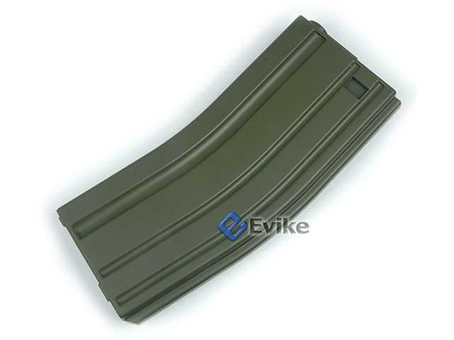 MAG 130 rd Midcap Magazine for M4 / M16 / L85 Series Airsoft AEG - OD Green (ONE)