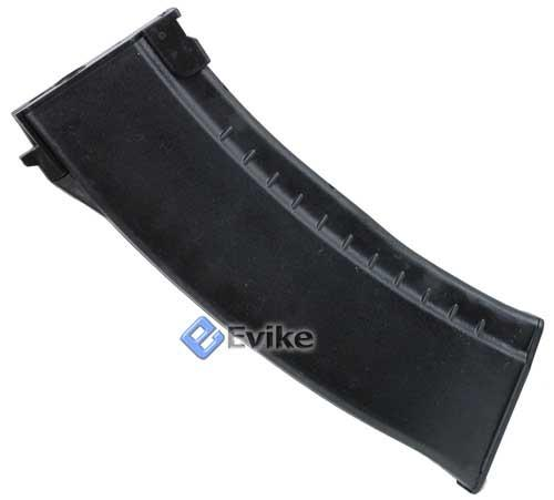 Matrix 140rd Mid-cap No Winding Magazine for AK Series Airsoft AEG. (Black)